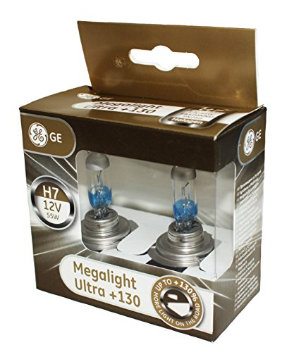 General Electric 58520 x Nu H7 12 V 55 W PX26d Megalight Ultra + 130% Double Box
