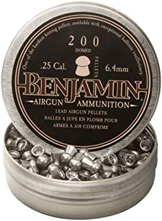 Benjamin Sheridan BD225, Domed Pellets.25 Caliber, 27.8 Grains, (Per 200)