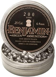 Benjamin Sheridan BD225, Domed Pellets.25 Caliber, 27.9 Grains, (Per 200)