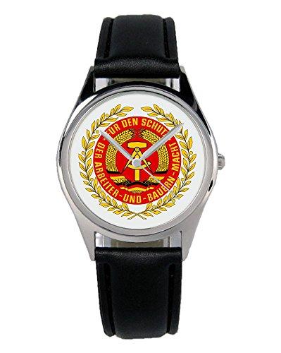 Geschenk für Ostalgie DDR NVA Fans Uhr B-1166