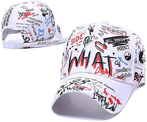 Baosale Graffiti Hat Adjustable Doodle Baseball Hat for Men Women