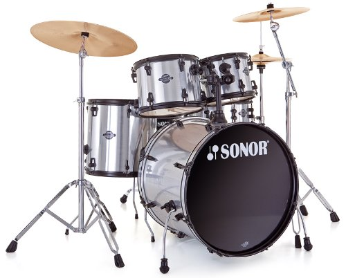 Sonor Smart Force Xtend SFX 11 Stage 2 Brushed Chrome · Schlagzeug