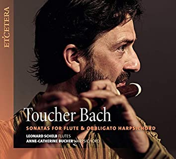 Toucher Bach - Sonatas for Flute & Obbligato Harpsichord