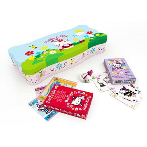 France Cartes - 395911 - Jeu de cartes - Coffret Métal Hello Kitty