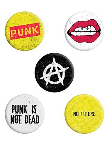 Grindstore Anstecker-Paket Punk Is Not Dead