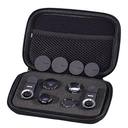 Hama 5-in-1 Objektiv-Set Uni, MC, für Smartphones und Tablets