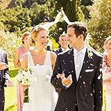 XCOZU 1500 Stück Konfetti Rosa, 1cm Rosegold Konfetti Papier für Hochzeit Valentinstag Tischdeko Geburtstag Party, Rund Seidenpapier Tisch Konfetti für Ballons 30g - 7