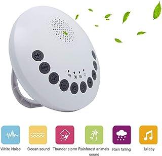 Máquina de ruido blanco para el sueño, terapia de sonido del sueño portátil para bebés