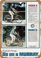 自転車ティンサイン壁鉄絵レトロプラークヴィンテージメタルシート装飾ポスターおかしいポスター吊り工芸用バーガレージカフェホーム