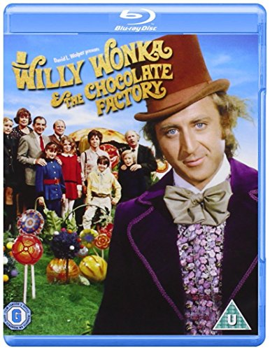 Willy Wonka and The Chocolate Factory [Blu-ray] [UK Import]