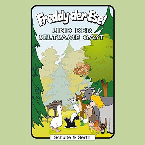 Freddy der Esel und der seltsame Gast Titelbild