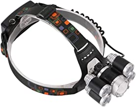 sharprepublic Waterdichte ultra heldere koplamp 5 LED zaklampen werklicht voor fietsen - zilver