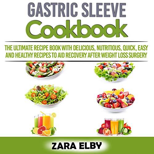 Gastric Sleeve Cookbook cover art