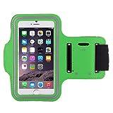 Fascia da braccio per HTC desidera 10Lifestyle correre traspirante smartphone Android Custodia T7 Colore: verde Marca: Shot Case