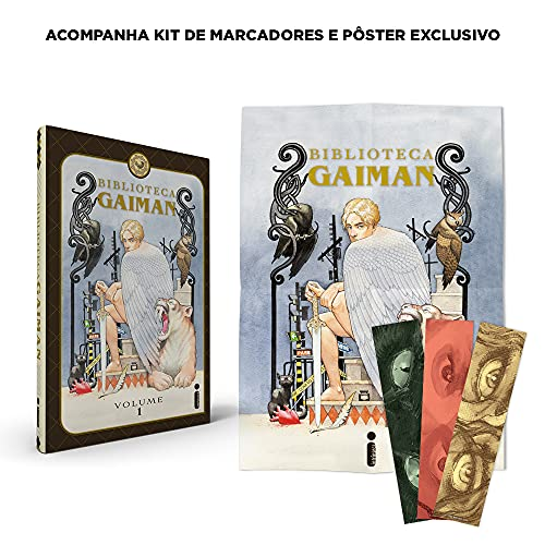 Biblioteca Gaiman - Volume 1 - Acompanha Kit de Marcadores e Pôster Exclusivo. Capa dura