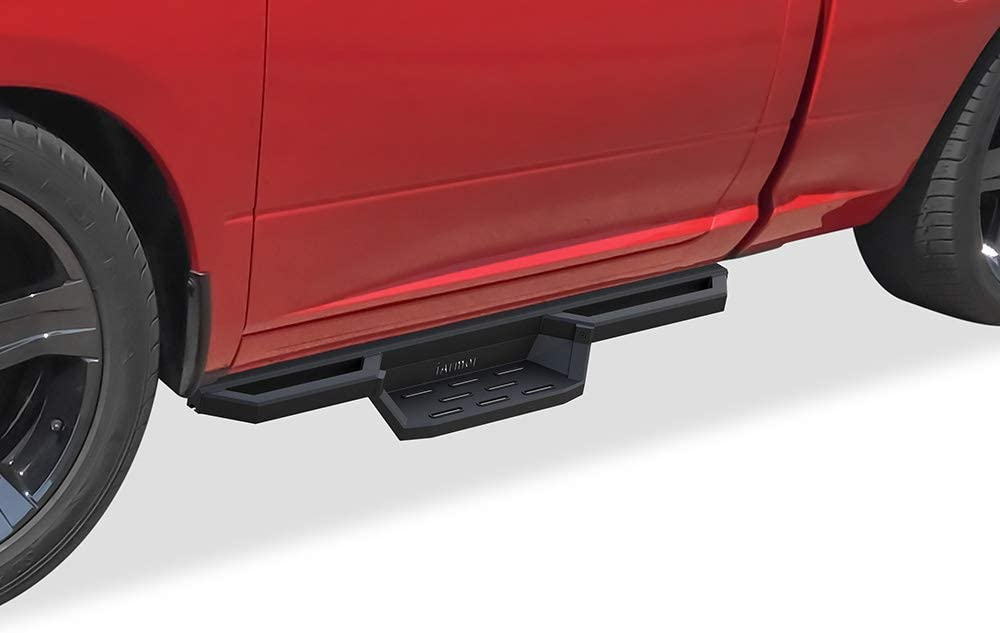 Ranking TOP19 APS Aluminum Drop Steps Max 80% OFF Running with Dodge Compatible Ram Boards