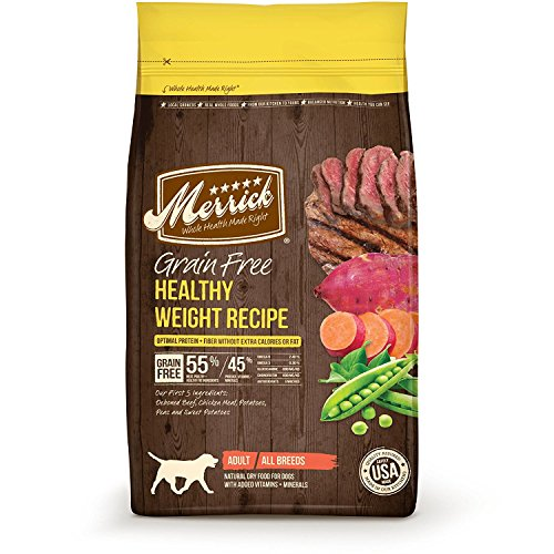 Merrick Grain Free Healthy Weight Recipe 4-Pound 2-Pack