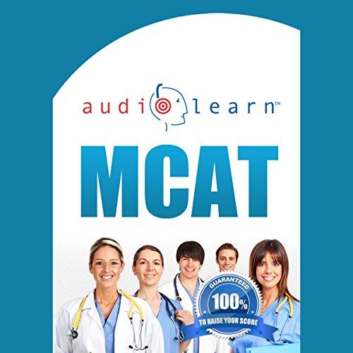 MCAT AudioLearn audiobook cover art