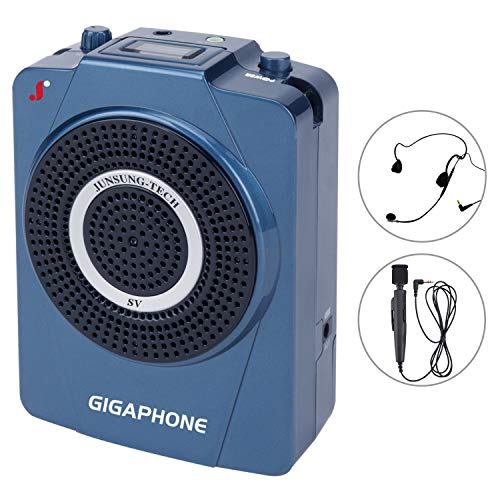 GIGAPHONE Outdoor SV Portable Voice Amplifier [40W] with Microphone