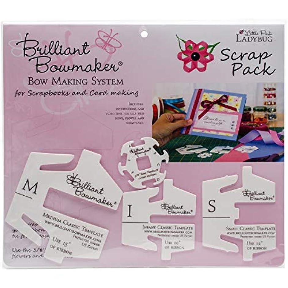 Little Pink Ladybug Kit Brilliant Bowmaker Scrap Pack