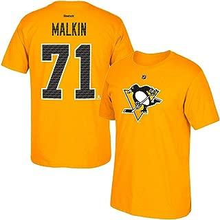 adidas Evgeni Malkin Reebok Pittsburgh Penguins 'Tri-Matrix' Jersey T-Shirt Men's