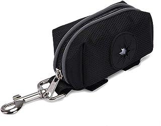 Gankmachine - Dispensador de Bolsas de Basura para Mascotas, Impermeable, para Caminar Negro 9.5 * 5 * 5cm