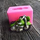 3D Retro Motorrad Form Silikon Form Küche Kuchen Dekorieren Formen Fondant Schokolade Pudding Form...