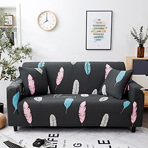 LuanQI Funda de sofá Universal elástica a Cuadros Fundas de sofá elásticas para Sala de Estar sofá Silla Funda de sofá decoración del hogar A11 3 plazas