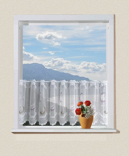 Anna Cortina 8833427PC02.30x100 - Tenda Corta, Motivo Paisley 60x100 Multicolore