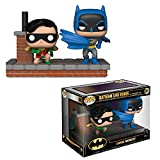 Funko- Pop Vinyl: Comic Moment 80th: Look Batman and Robin (1964) Figura de Vinilo, Multicolor (37256)
