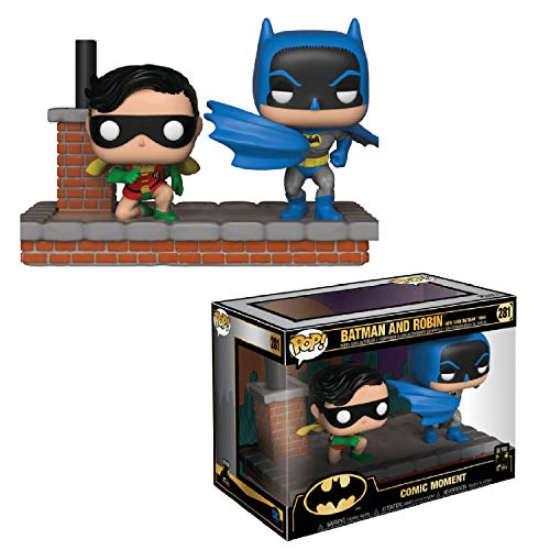 Funko- Pop Vinyl: Comic Moment 80th: Look Batman and Robin (