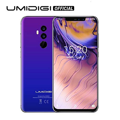 "UMIDIGI Z2 Special Edition- 4GB RAM+64GB ROM Unlocked Cell Phone - 6.2"" FullView Display(19:9 Ratio - Dual Sim 4G Volte Unlocked Smartphone -16MP+8MP Dual Camera - 3850mAh Battery(Fantastic)"