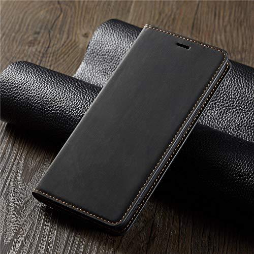 ZXMDP para iPhone 11 12 Pro MAX XS XR X 6 6s 7 8 Plus SE Flip PU Funda para Billetera Ranura para Tarjeta de crédito Funda para teléfono, Caja marrón para teléfono, para iPhone 8