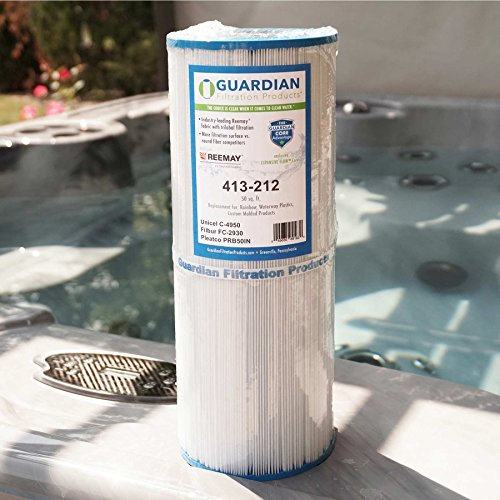 2 Pack Guardian Pool Spa Filter Replaces Unicel C-4950 Pleatco PRB50-IN Filbur FC-2390