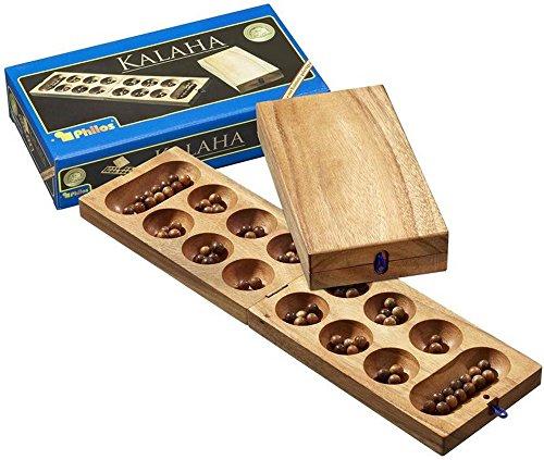 Philos 6303 - Klapp-Kalaha, Steinchenspiel, Strategiespiel