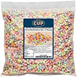 Assorted Dehydrated Cereal Marshmallow Bits - 1.5 Pound Bag Just like the marshmallows in cereal. No more picking through trying to find all the marshmallows Add to your favorite Cereal, Cocoa, Rice Crispy Treats, Snacks, Desserts, Toppings, Jello an...