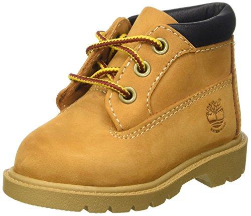 Timberland Unisex-Baby Waterproof Klassische Stiefel, Beige (Wheat), 30 EU