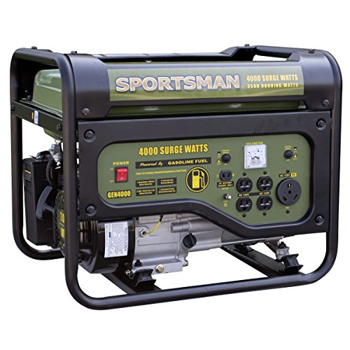 Sportsman GEN4000, 3500 Running Watts/4000 Starting Watts, Gas Powered Portable Generator