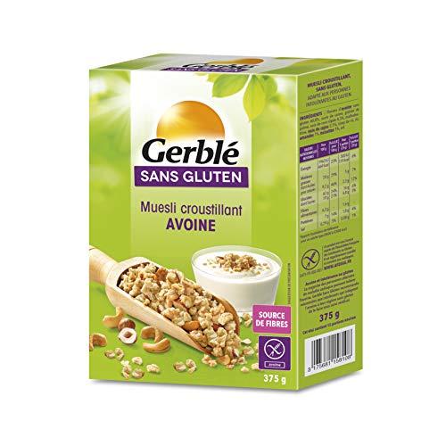 Gerblé Muesli Avoine, Sans gluten, 375 g, 203376