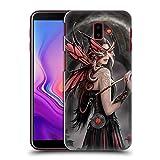 Head Case Designs Oficial Anne Stokes Embelesado Amistad de Dragón Carcasa rígida Compatible con Samsung Galaxy J6 Plus (2018)