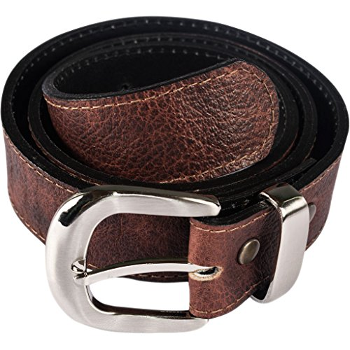 Atitlan Leather Brown Leather Money Belt 30