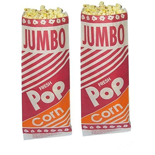 Learn More About Hoosier Hill 12 Jumbo Popcorn Bags 2 oz 100 count