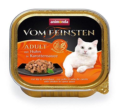 Animonda Katze Vom Feinsten Adult mit Huhn in Karottensauce 100g Größe 16 x 100g