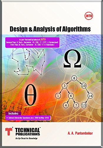 Design & Analysis of Algorithms for JNTU