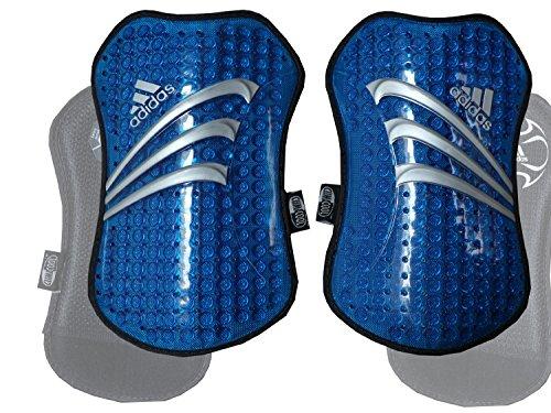 Adidas + Predator TPR scheenbeschermers blauw/Shinguards