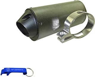 TC-Motor 38mm Exhaust Muffler With Clamp For 125cc 140cc 150cc 160cc Chinese Made Pit Dirt Bike XR50 CRF50 SSR Lifan Taotao Stomp Kayo
