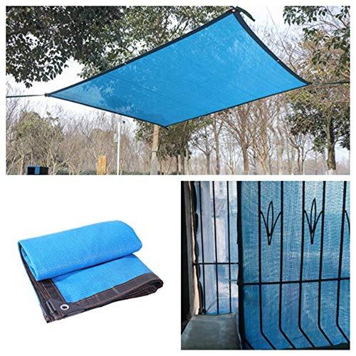 CNMZ Anti-UV Sunshade Net Outdoor Garden Sunscreen Shade Cloth Plant Cover Greenhouse Net Swimming Pool Shading Net,Knitting 6 Pin 2x2 m