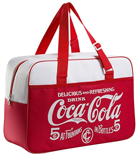 Meliconi Coca Cola Classic Sac Isotherme 24 Lt, 600d PU, Rouge/Blanc, 45 x 18 x 31 cm