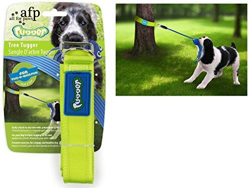 All for Paws Tree Tugger – bevestiging voor hondenspeelgoed, bijvoorbeeld aan de boom.