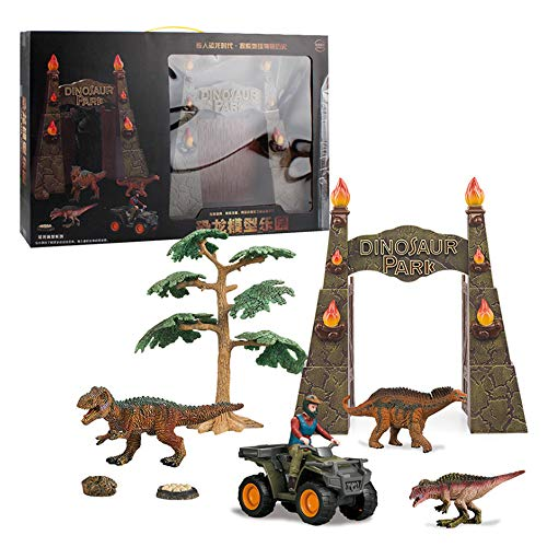 HAOZHOU Jurassic Dinosaurier Spielzeug Kinder Adamskostüm